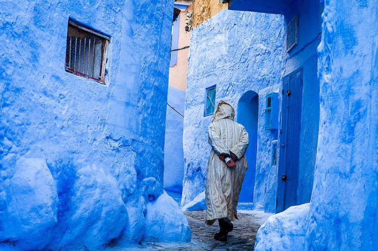 Chefchaouen, no Marrocos