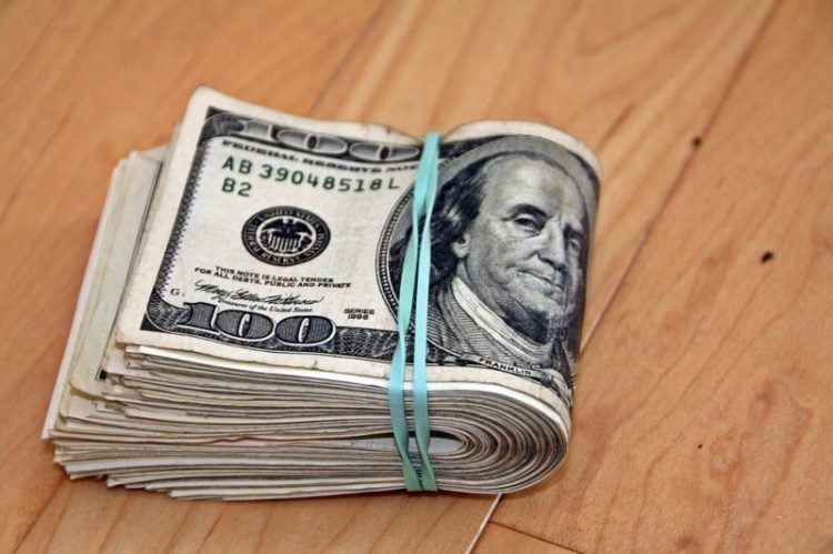 Notas de 100 dólares