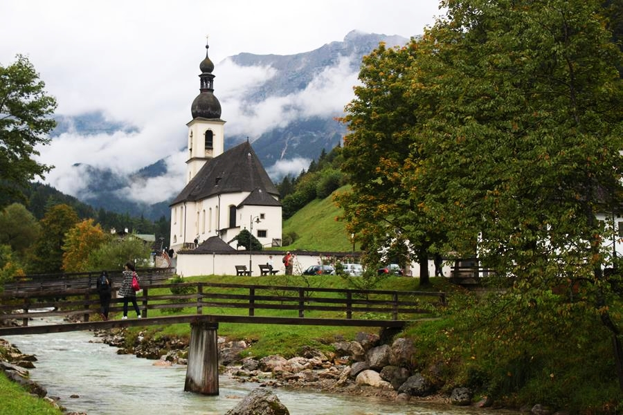 Igreja em Berchtesgaden, na Alemanha