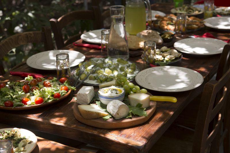 Israel gastronomia em Galilee