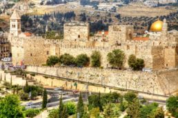 Vista aérea de Israel