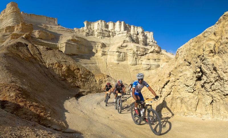 Passeio de bicicleta em Israel