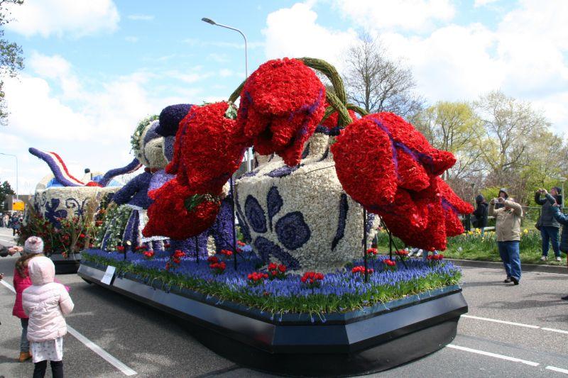 Parada de Flores, um dos eventos da cultura holandesa
