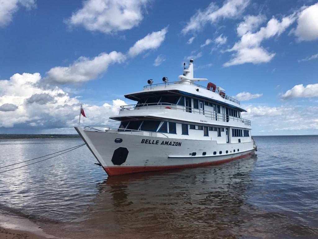 Belle Amazon é uma das embarcações utilizadas |Divulgação