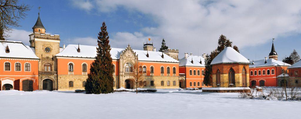 Palácio de Sychrov é mais uma opção que não fecha durante o inverno |Divulgação