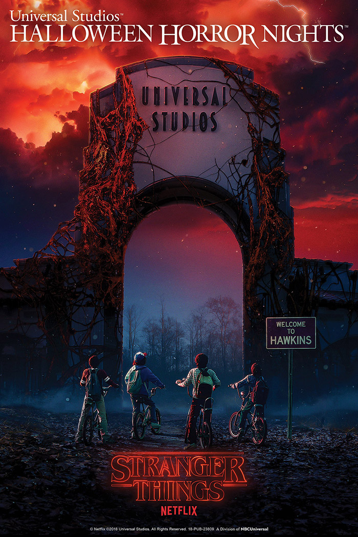 Stranger Things fará parte do Halloween Horror Nights |Divulgação