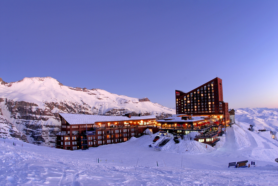 Valle Nevado, no Chile