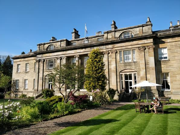 Balbirnie House, na Escócia