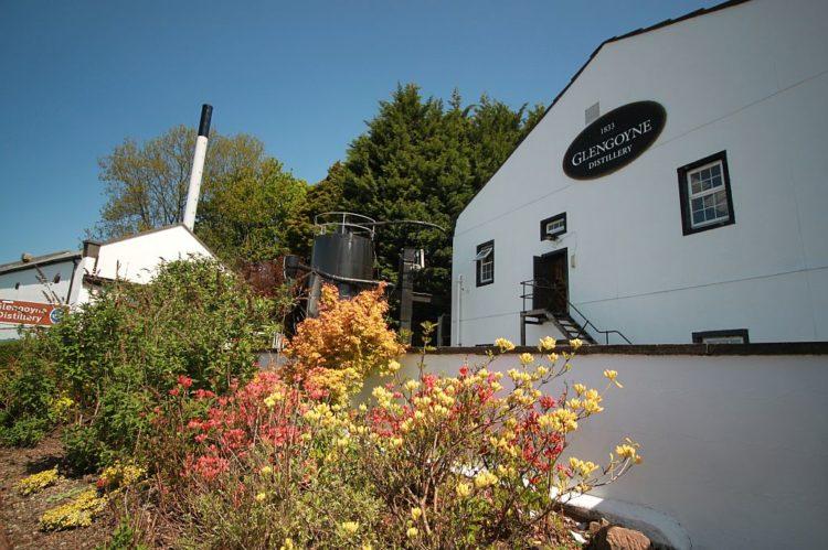 Destilaria de uísque Glengoyne, na Escócia