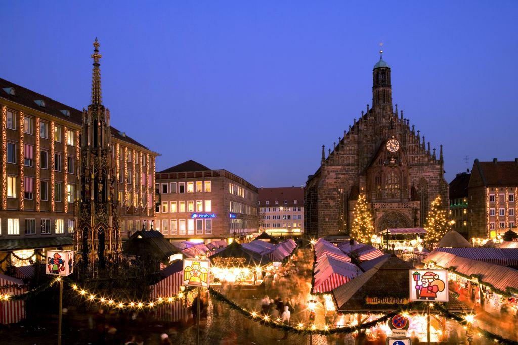 Mercado de Nuremberg é um dos destaques do roteiro |Divulgação