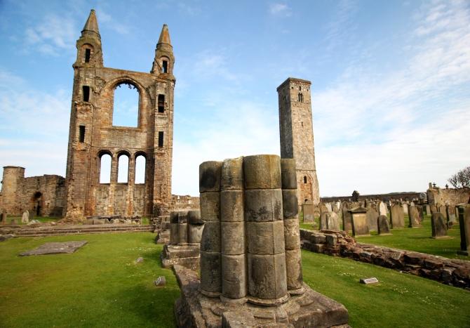 Ruínas da Catedral de St. Andrews