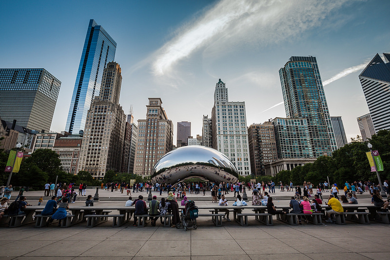Cloud Gate , em Chicago