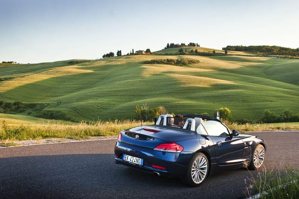 BMW na Toscana