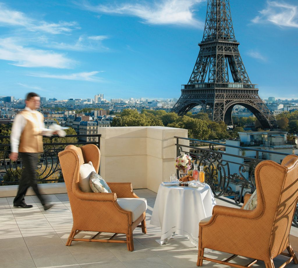Vista do Hotel Hotel Shangri-La,, em Paris