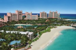 Atlants Paradise resort no Caribe