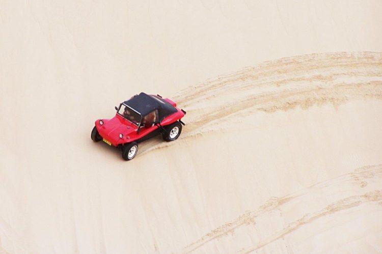 buggy em duna