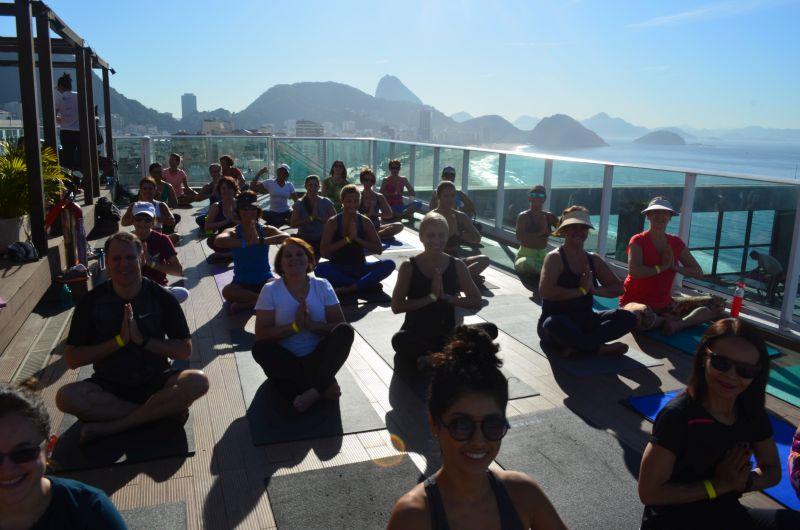 Praticar yoga no Rio de Janeiro é outra alternativa |Divulgação