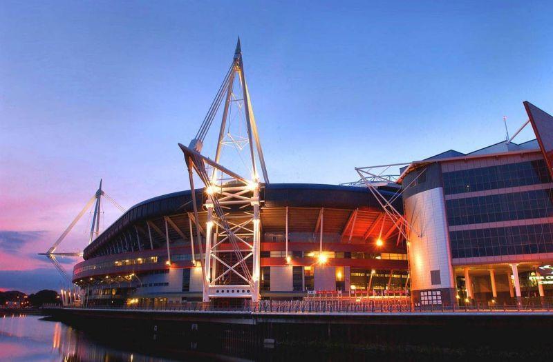 Principality Stadium, em Cardiff | Divulgação