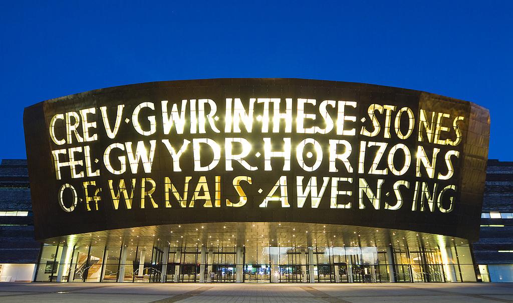 Wales Millennium Centre, em Cardiff