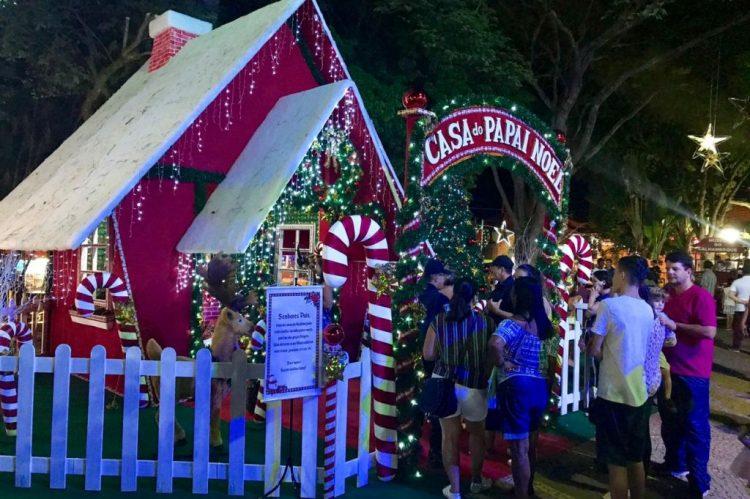 Natal em Brotas terá casa do Papai Noel e diversas atividades radicais |Divulgação