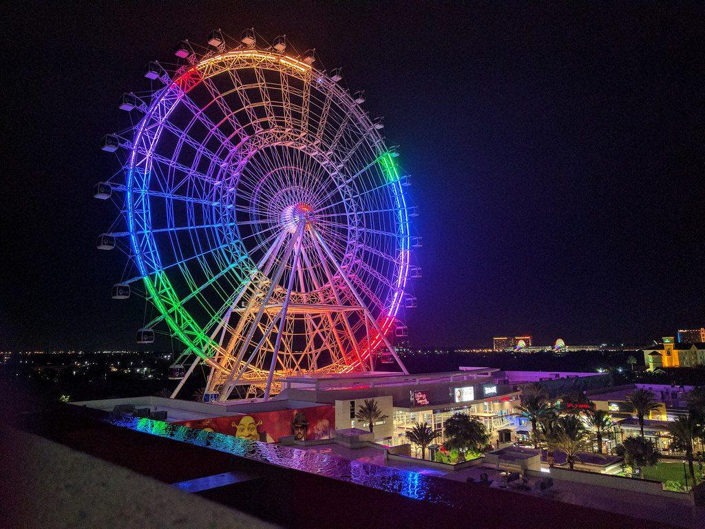 Parque de diversão em Orlando | Photo credit: <a href=
