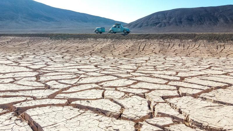 Segundinho já viajou por diversos países, como o Chile, onde passou pelo Deserto do Atacama |Foto: Divulgação/Nauro Júnior