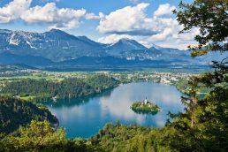 Lago na Eslovênia