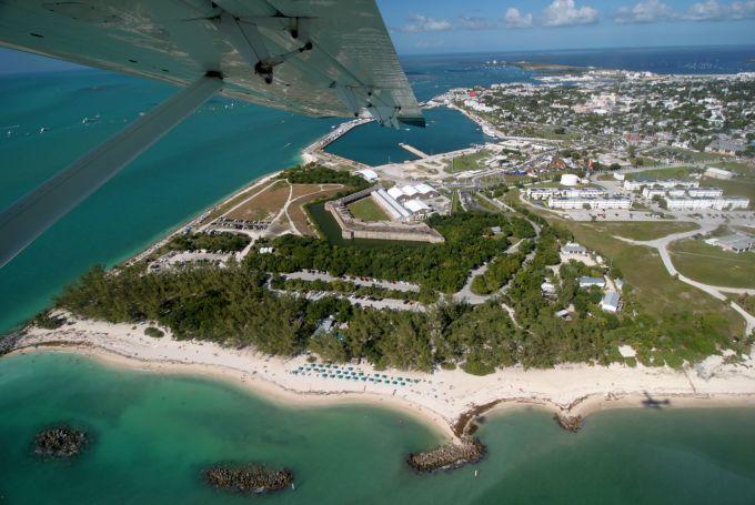 Vista aérea de Key West