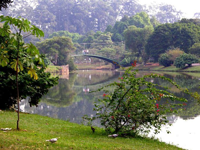 Parque em São Paulo