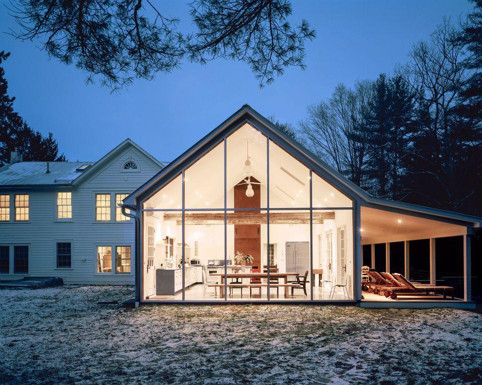 Casa em uma fazenda, em Nova Iorque | Divulgação