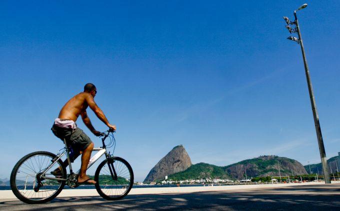 Pedalando pelo Rio
