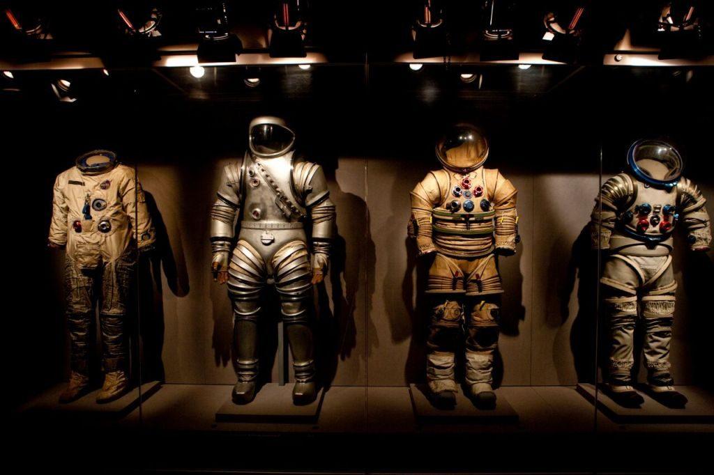 Roupas de astronautas na NASA Kennedy Space Center Visitor Complex | Divulgação