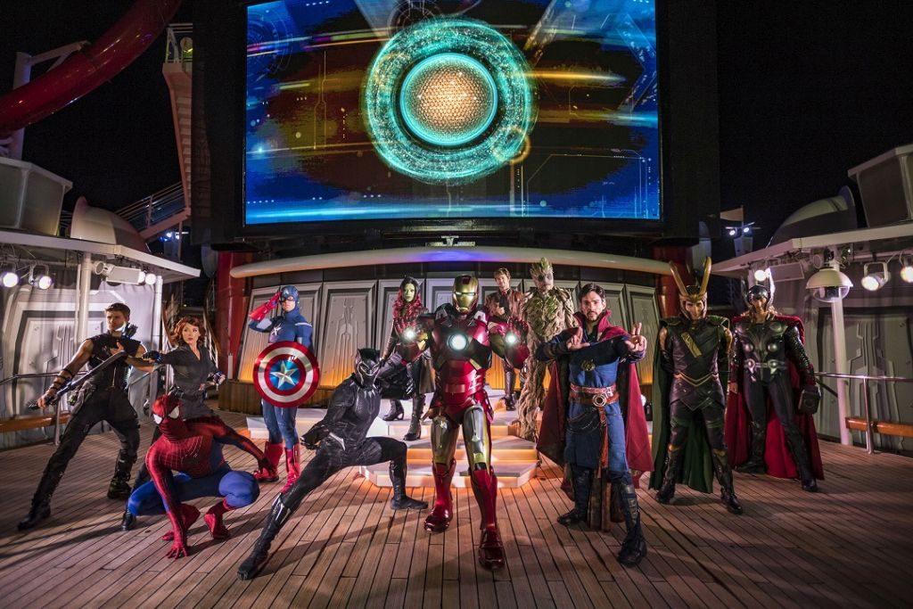 Curta as atrações com os super-heróis da Marvel | Divulgação
