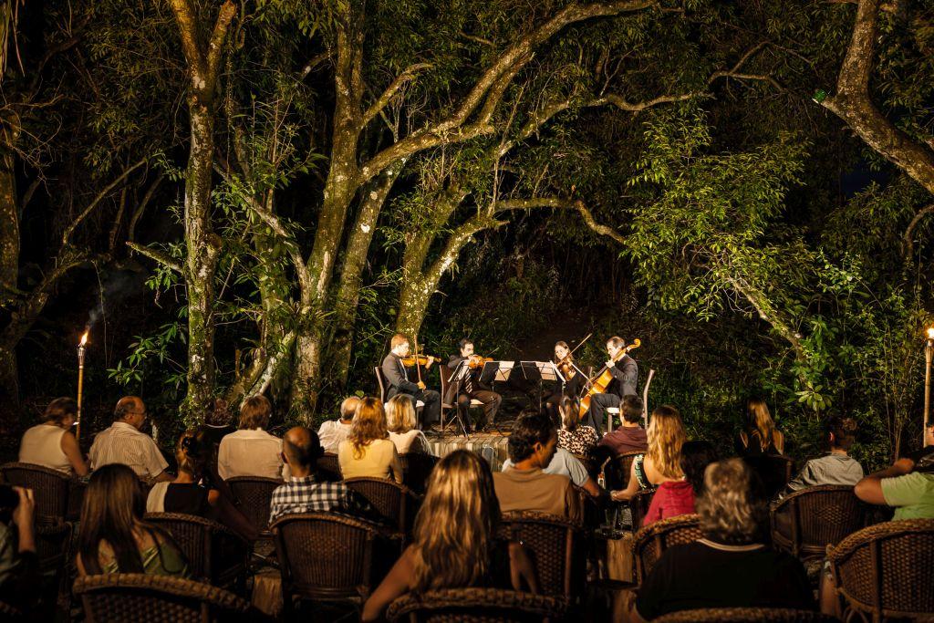 Jantares no Ponta dos Ganchos tem música ao vivo |Divulgação