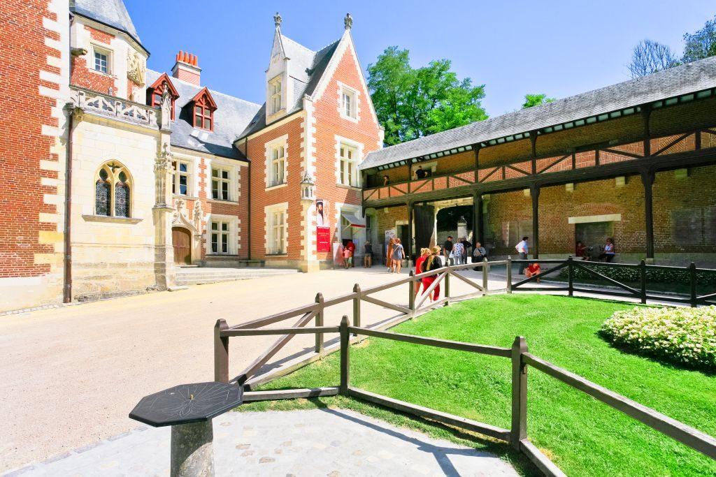 Château du Clos Lucé, residência na qual Da Vinci viveu até o ano de sua morte | Divulgação