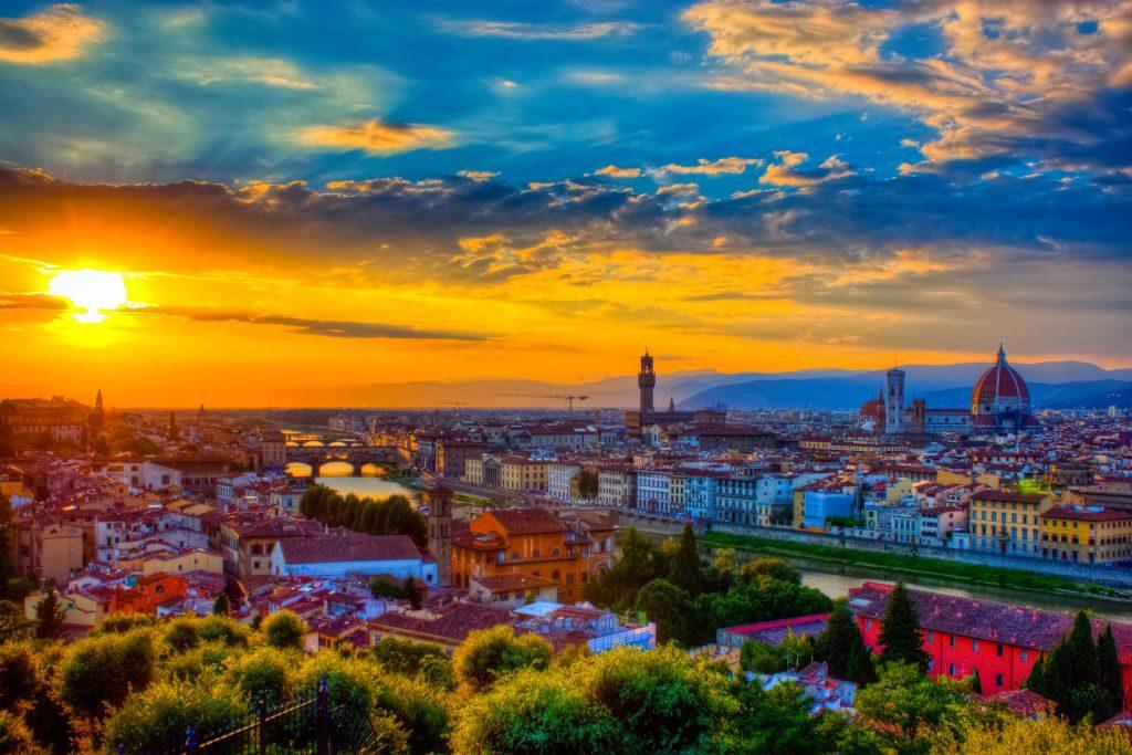 Cidade de Florença, onde nasceu Leornado Da Vinci | Divulgação