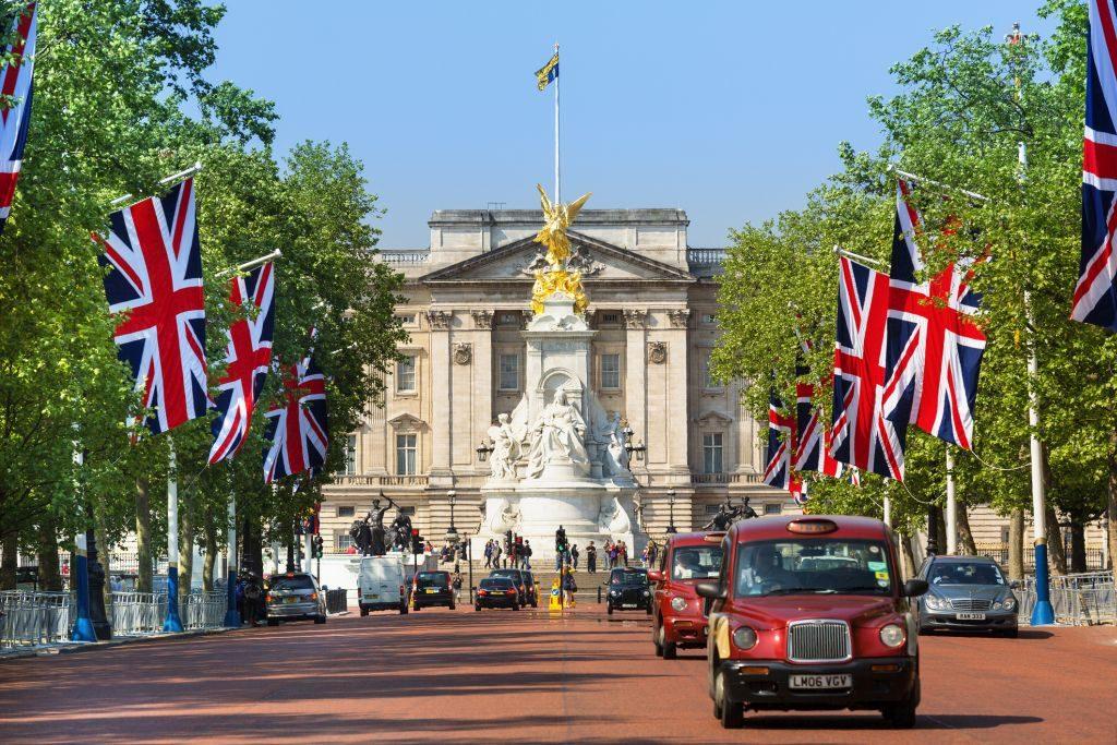 Palácio de Buckingham, em Londres | Divulgação