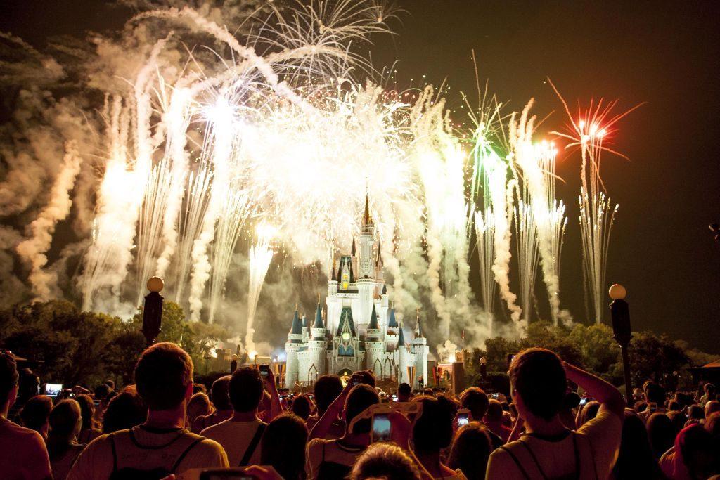 Fogos de artifício na Disney | Divulgação
