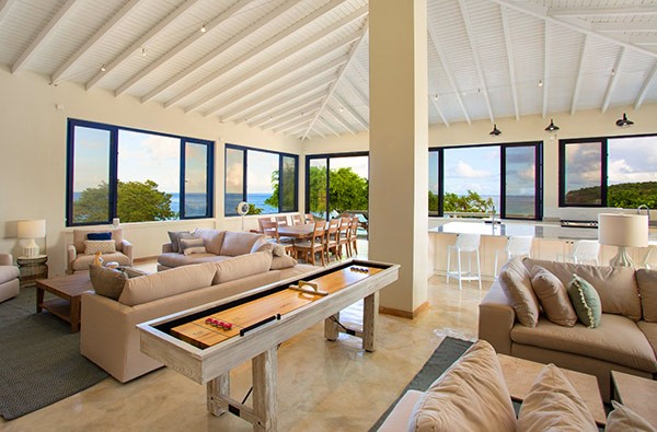 Vista do Sandcastle Villa, The Beach House | Divulgação