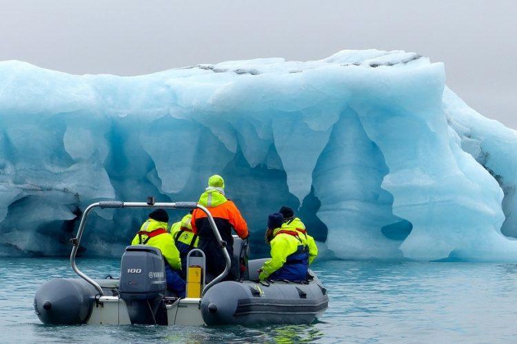Fotos de geleiras e icebergs