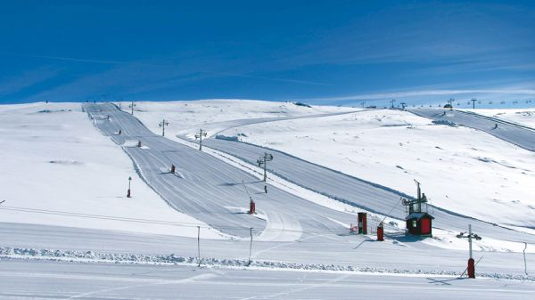 O local também conta com estação de esqui | Divulgação