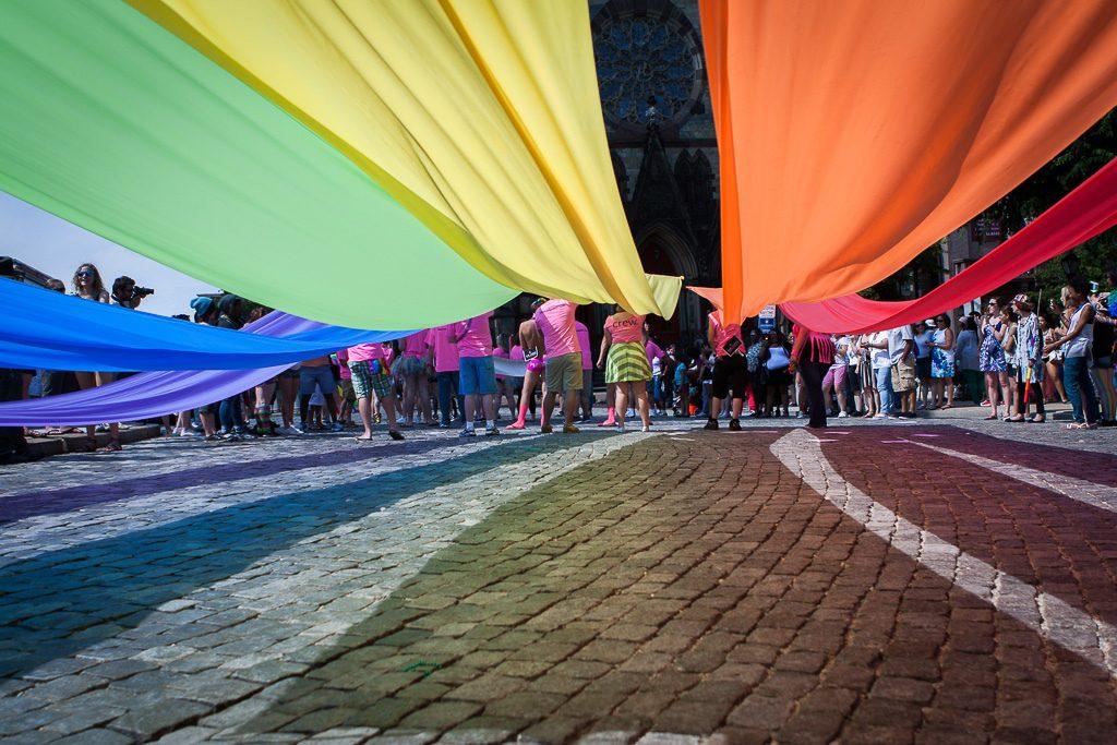 Manifestantes LGBTQ | Visualhunt.com / CC BY-NC-ND