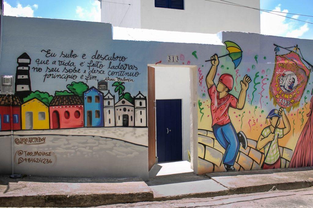 Faixada da casa inspirada em Alceu Valença | Divulgação
