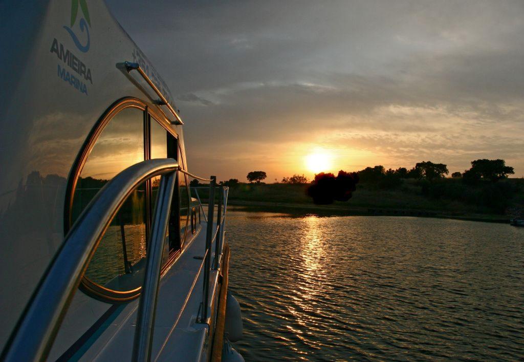 Confira o pôr do sol no Alqueva | Divulgação