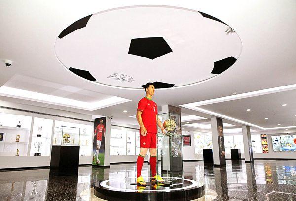 Museu CRT7 conta com diversas atrações | Divulgação