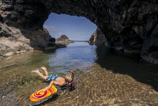 Piscinas naturais na Ilha da Madeira | Divulgação