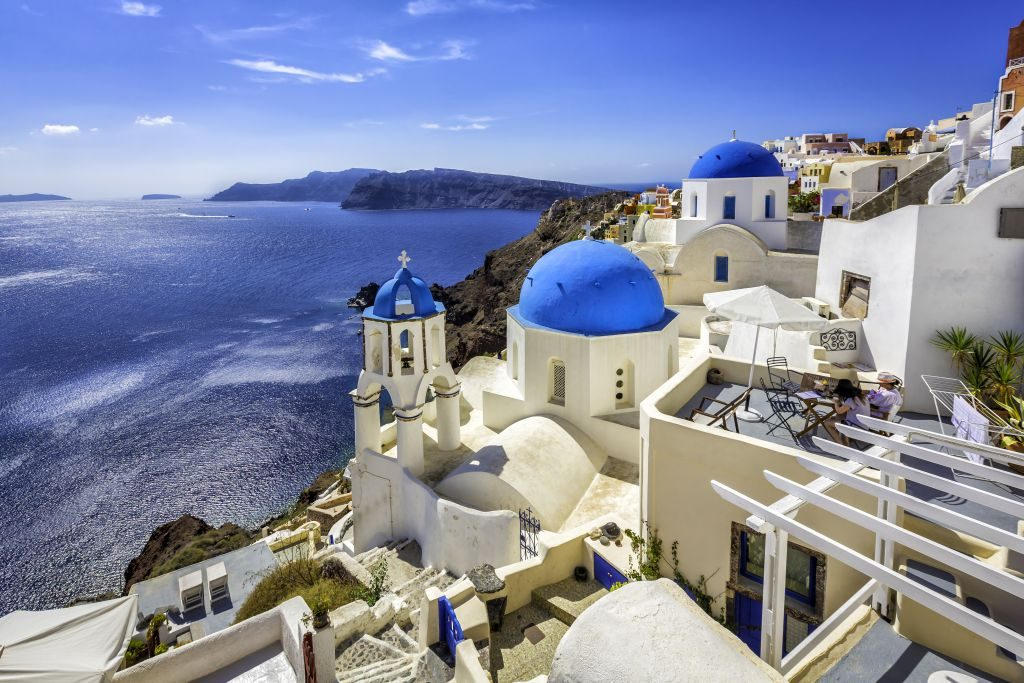 Vista de Santorini na Grécia | Divulgação