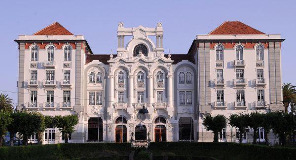 Vista do Curia Palace Hotel, em Portugal   Divulgação