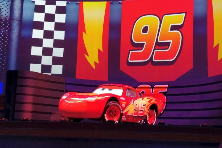 Relampago Mcqueen na Disney World