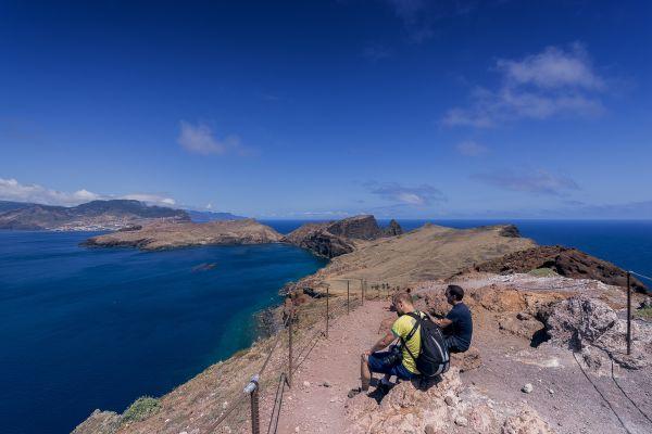 Mirante atrai turistas na Ilha da Madeira | Divulgação